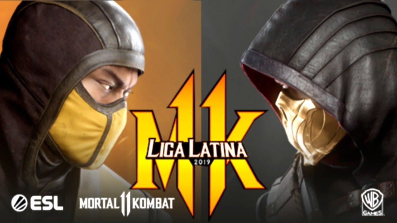 liga latina mortal kombat