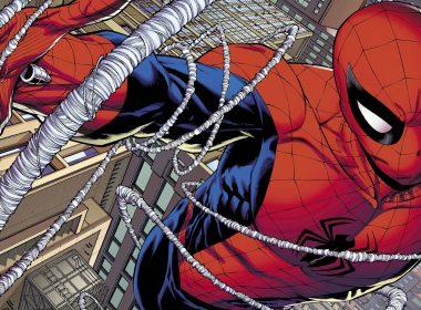 cropped spiderman web sling marvel comics 14549 2