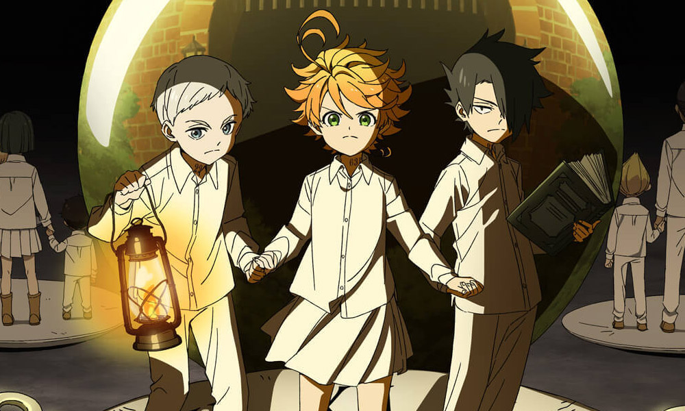 the promised neverland poster oficial