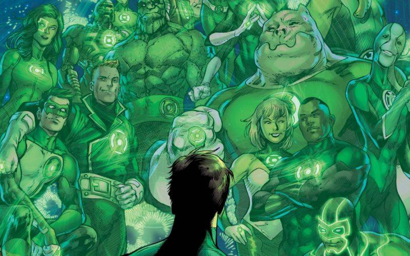 Green Lantern 80 Anniversary Header