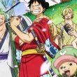 One Piece Arco Wano Poster Topo com o visual do anime