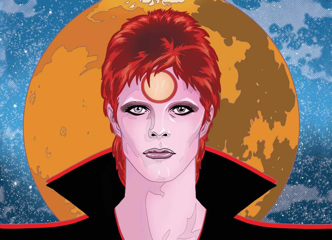 david bowie hq graphic novel the story of ziggy stardust quadrinhos noticias revista ambrosia