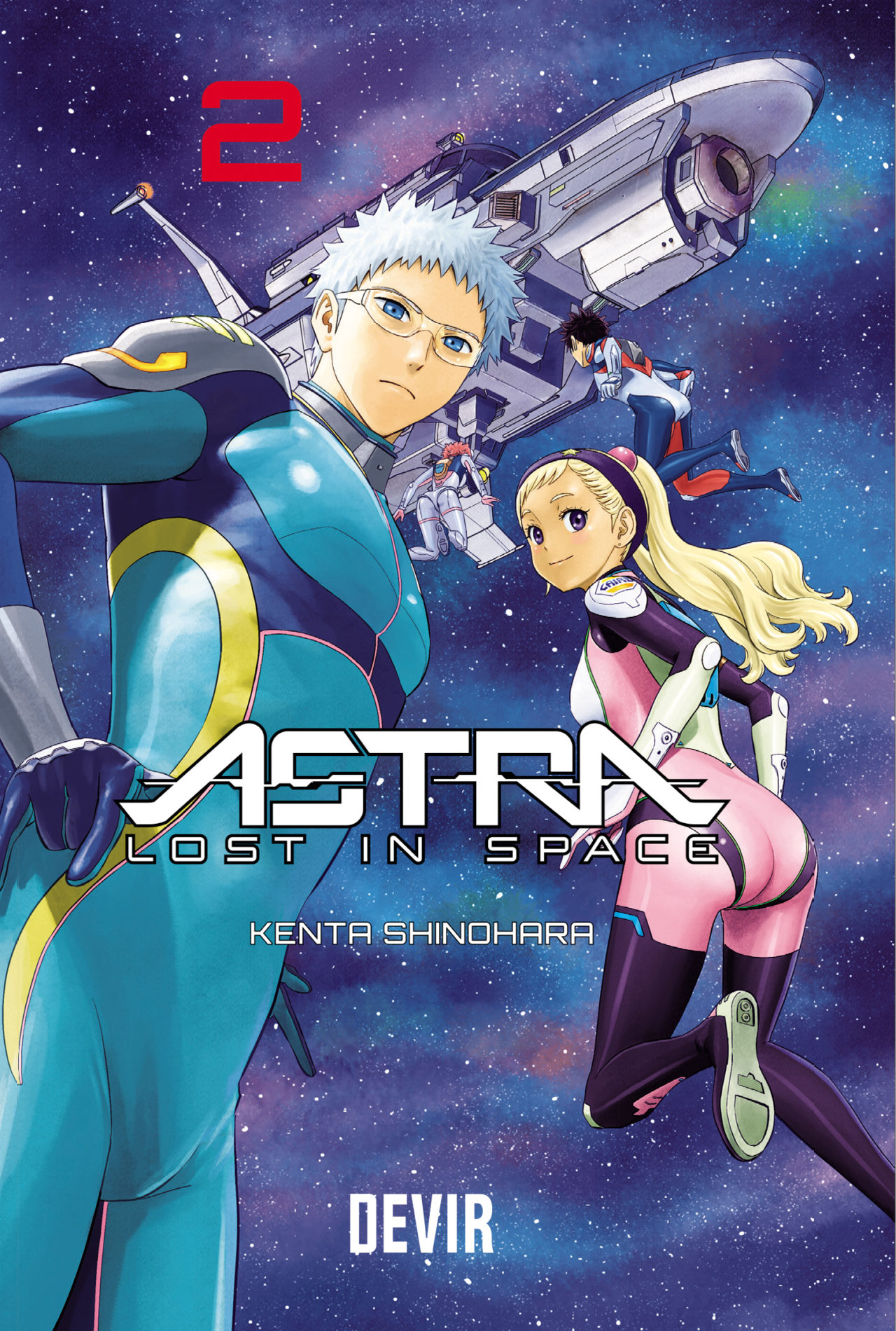 Astra lost in Space 2 capa