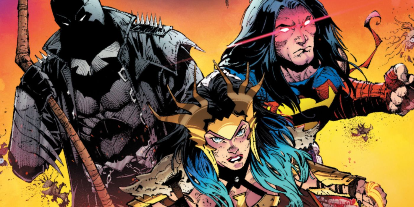 DC Dark Knights Death Metal feature