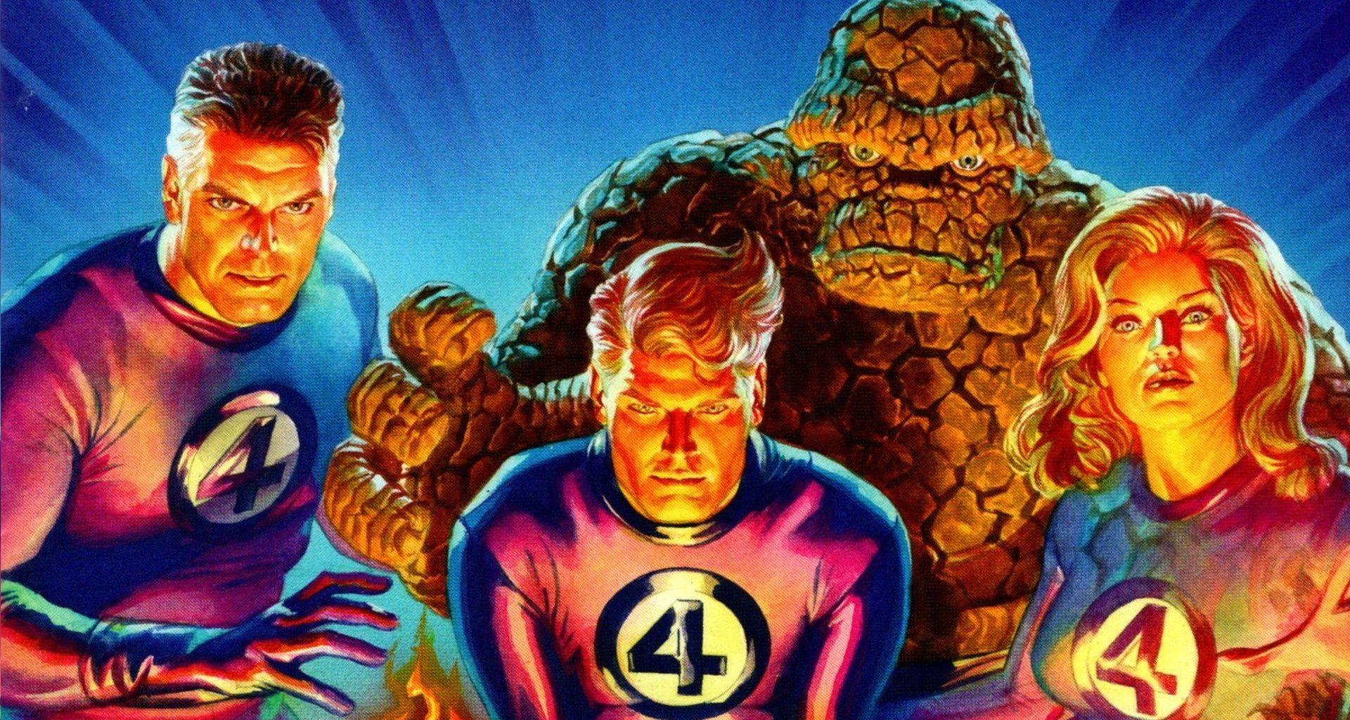 Fantastic Four 1 2018 Alex Ross Variant Cover cover