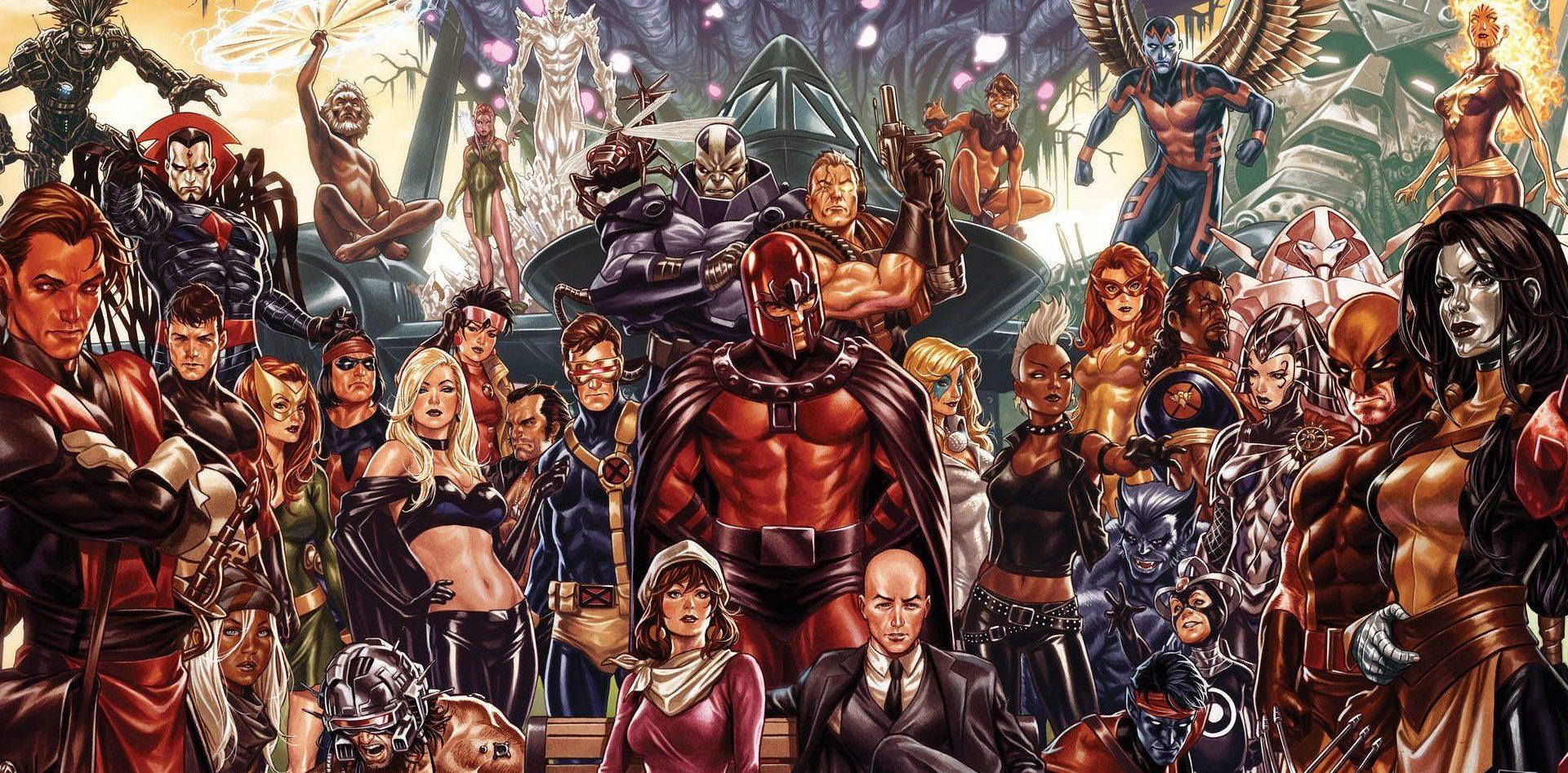 House of X Power of X teaser art Marvel X Men Mark Brooks banner e1553382215917