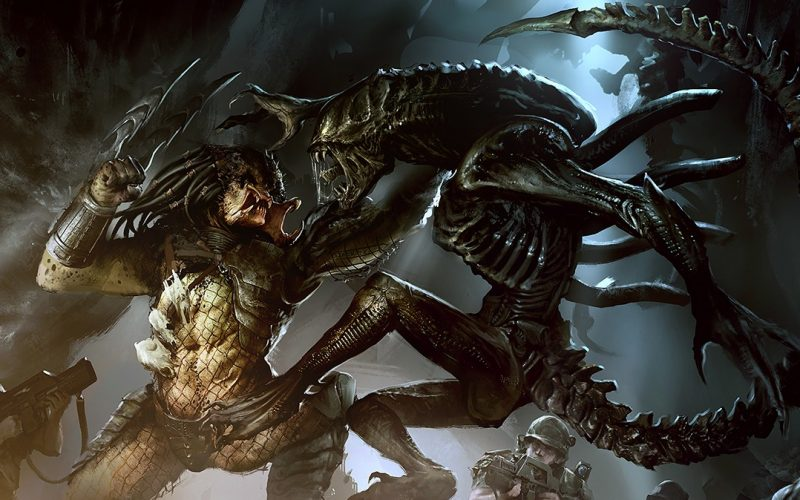 RUMOR NETFLIX FOX ALIEN VS PREDATOR ANIME SERIES AVP