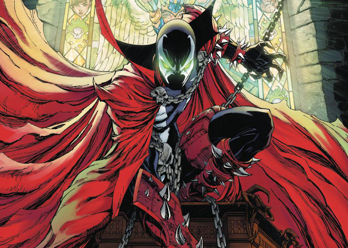 Spawn comic book cover