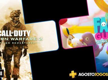Sony revela jogos da PS Plus de Agosto