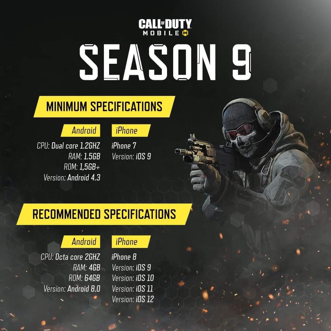COD Mobile Season9 Requirements TA