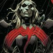 Knull Earth 616 Miles Morales Earth 1610 Edward Brock Earth 616 and Venom Klyntar Earth 616 from Venom Vol 4 3 001