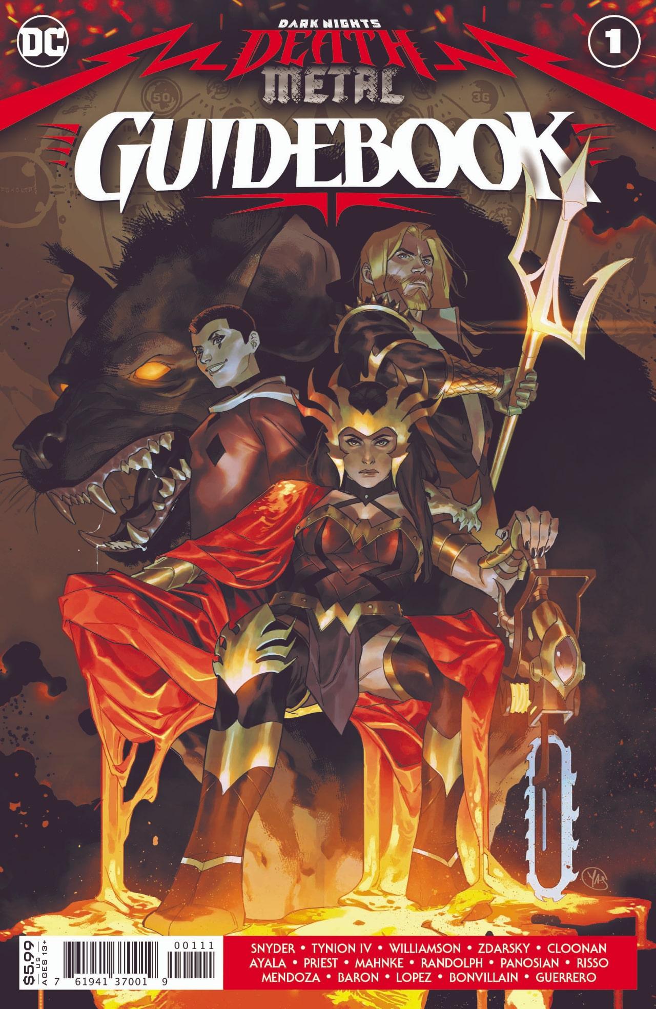 Meet the DCU Watcher in Dark Nights Death Metal Guidebook min