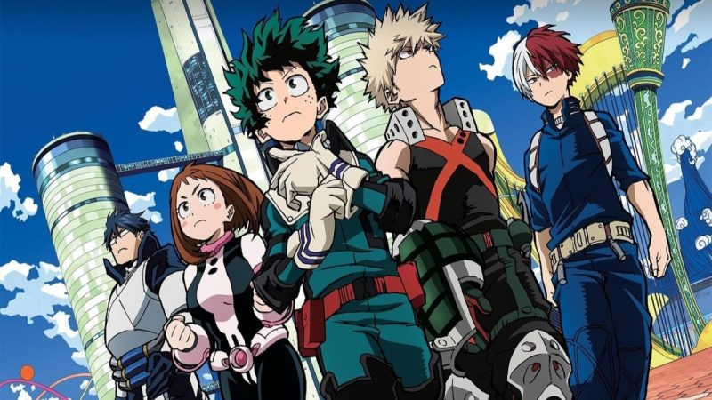 My Hero Academia capa