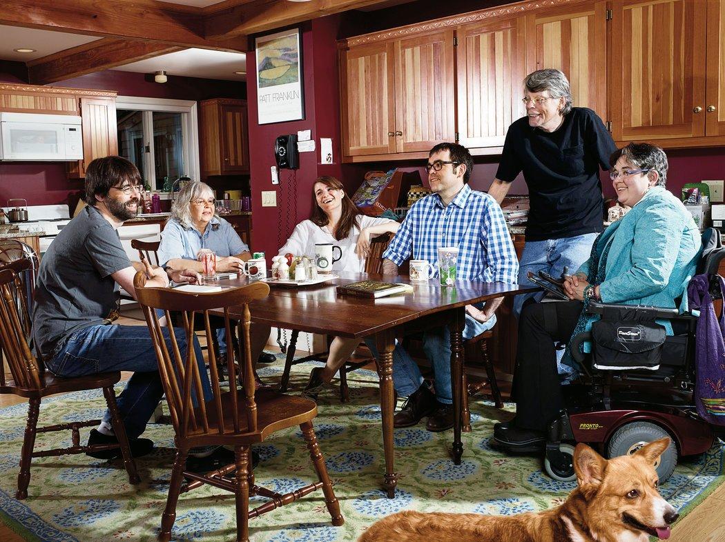Stephen King family