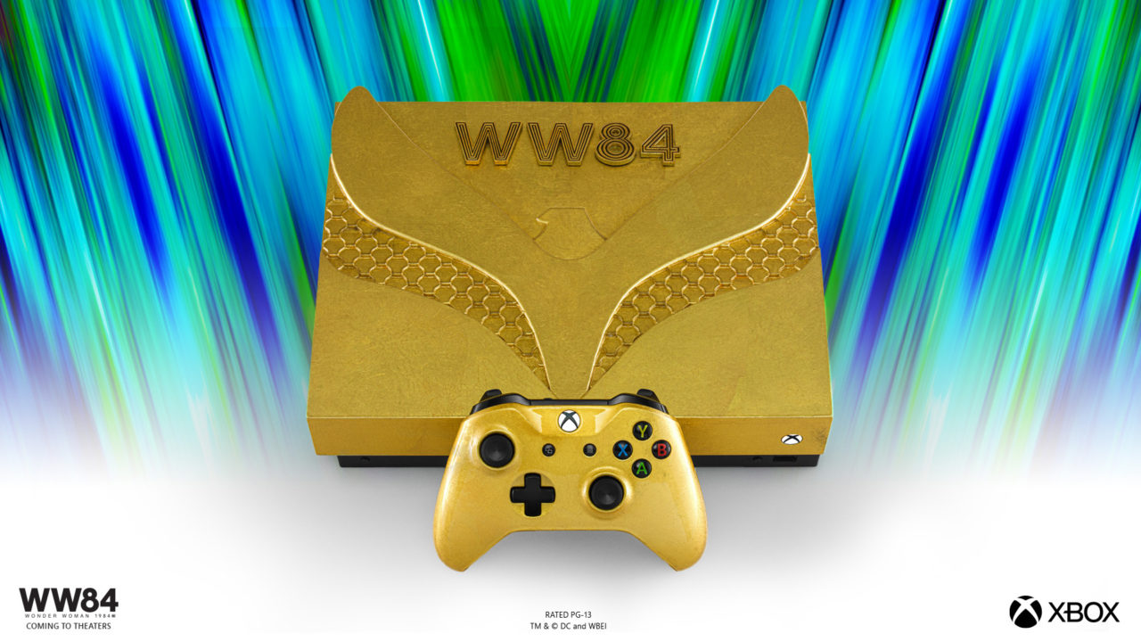 xbox one x golden armor 1