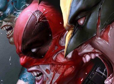 Marvel Zombies Comic Wolverine Deadpool