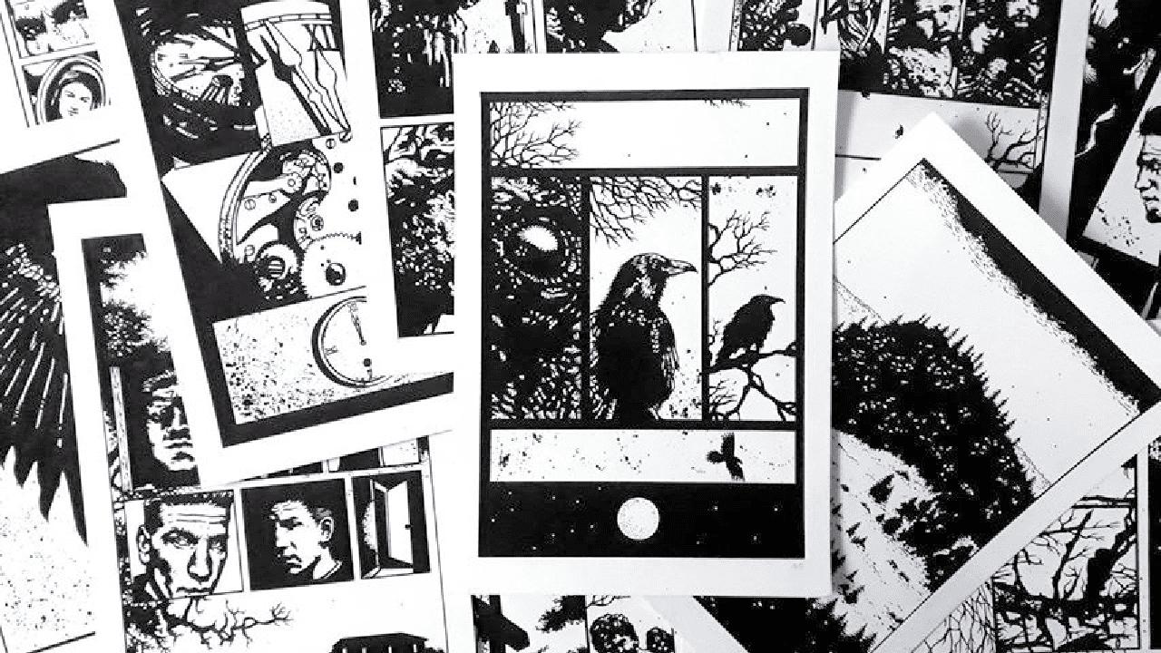 capa da resenha o corvo