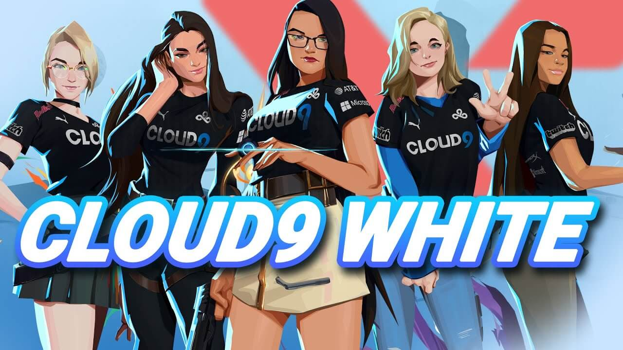 cloud9 white