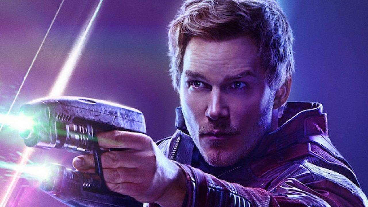 Chris Pratt Star Lord Avengers Endgame