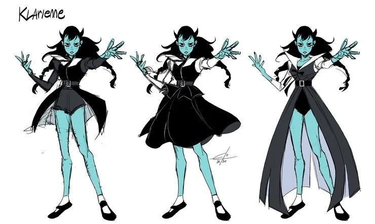 dc future state klarienne witch girl teen justice character design
