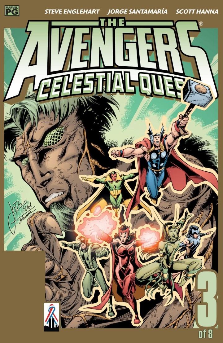 Avengers Celestial Quest