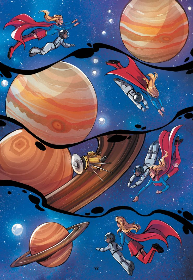 FLSF Story7 Local Space Supergirl 92 unlettered