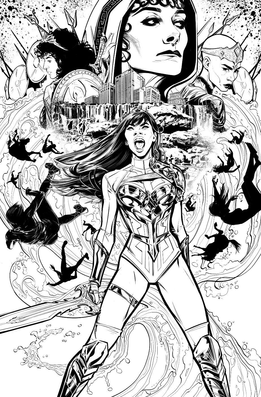 Wonder Girl 1 by Joelle Jones