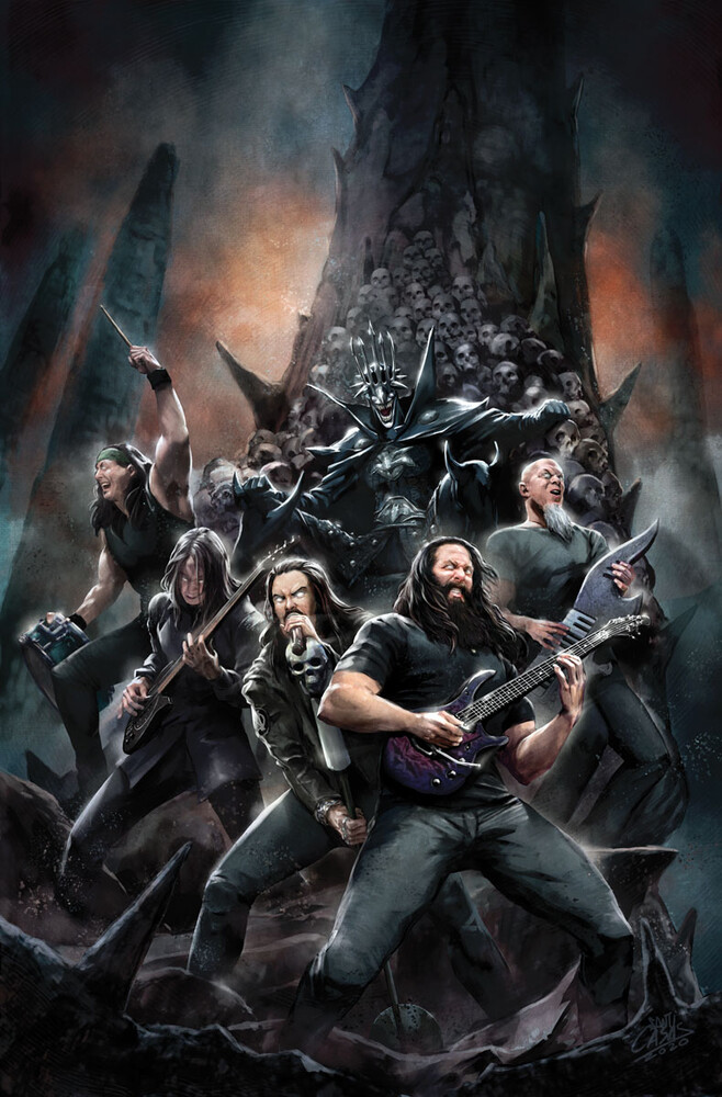 dark knights death metal band edition dream theater coletivo nerd