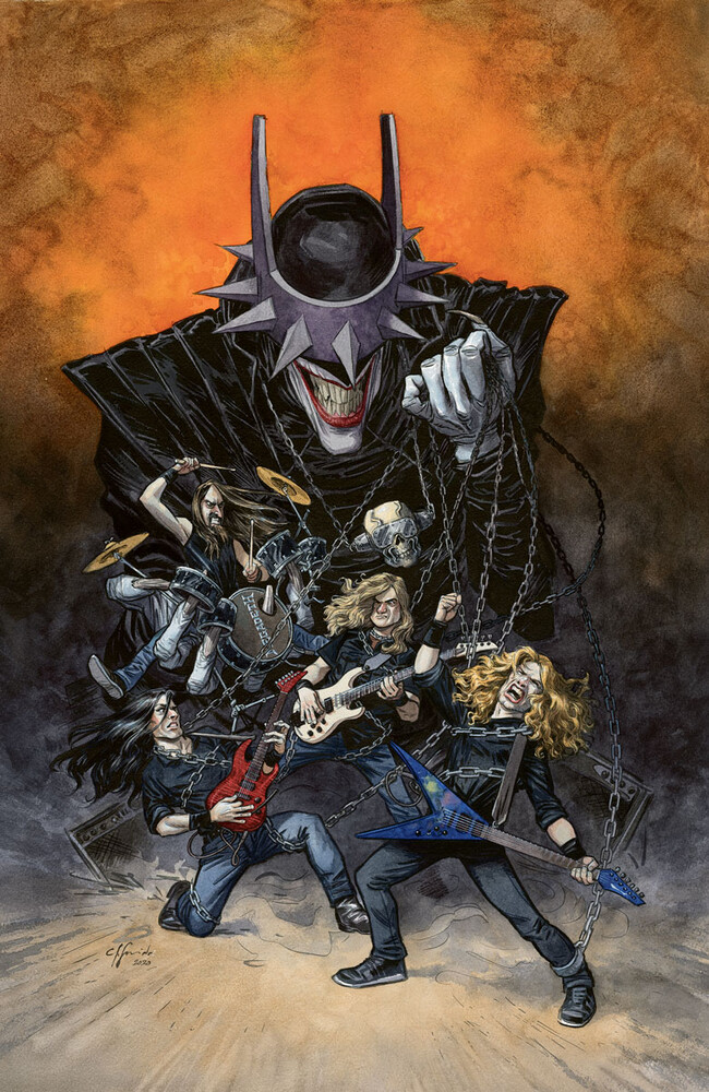 dark knights death metal band edition megadeth coletivo nerd