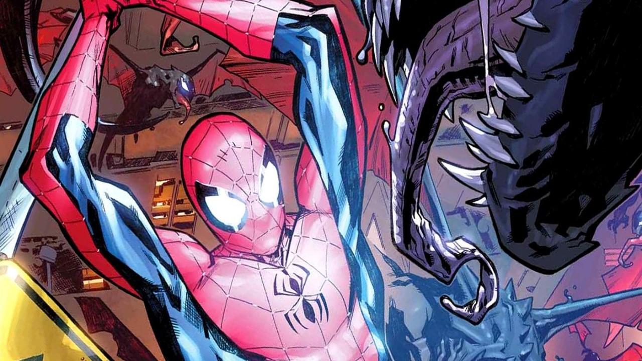 King in Black Spider man Header