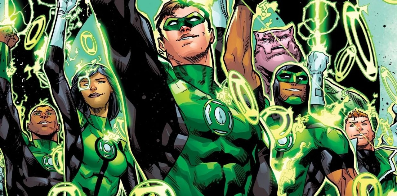 Green Lantern Corps feature