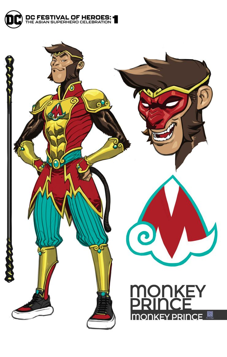 Monkey Prince Variant Cover