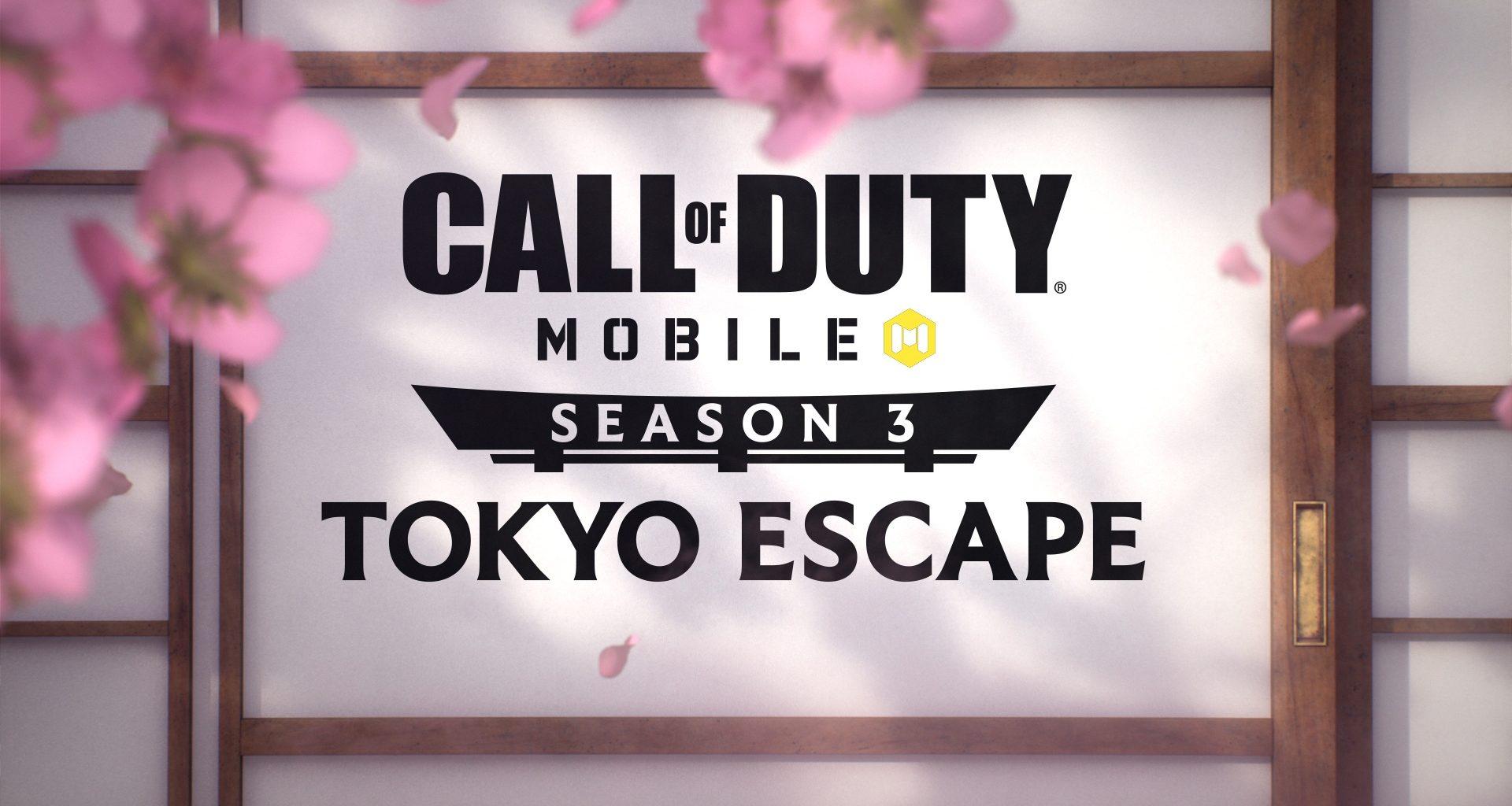 Tokyo Escape Logo Call of Duty Mobile