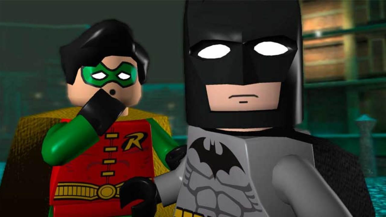 Batman e Robin em Lego