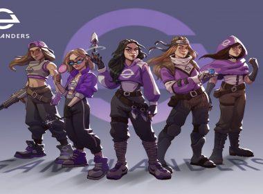 Gamelanders Purple