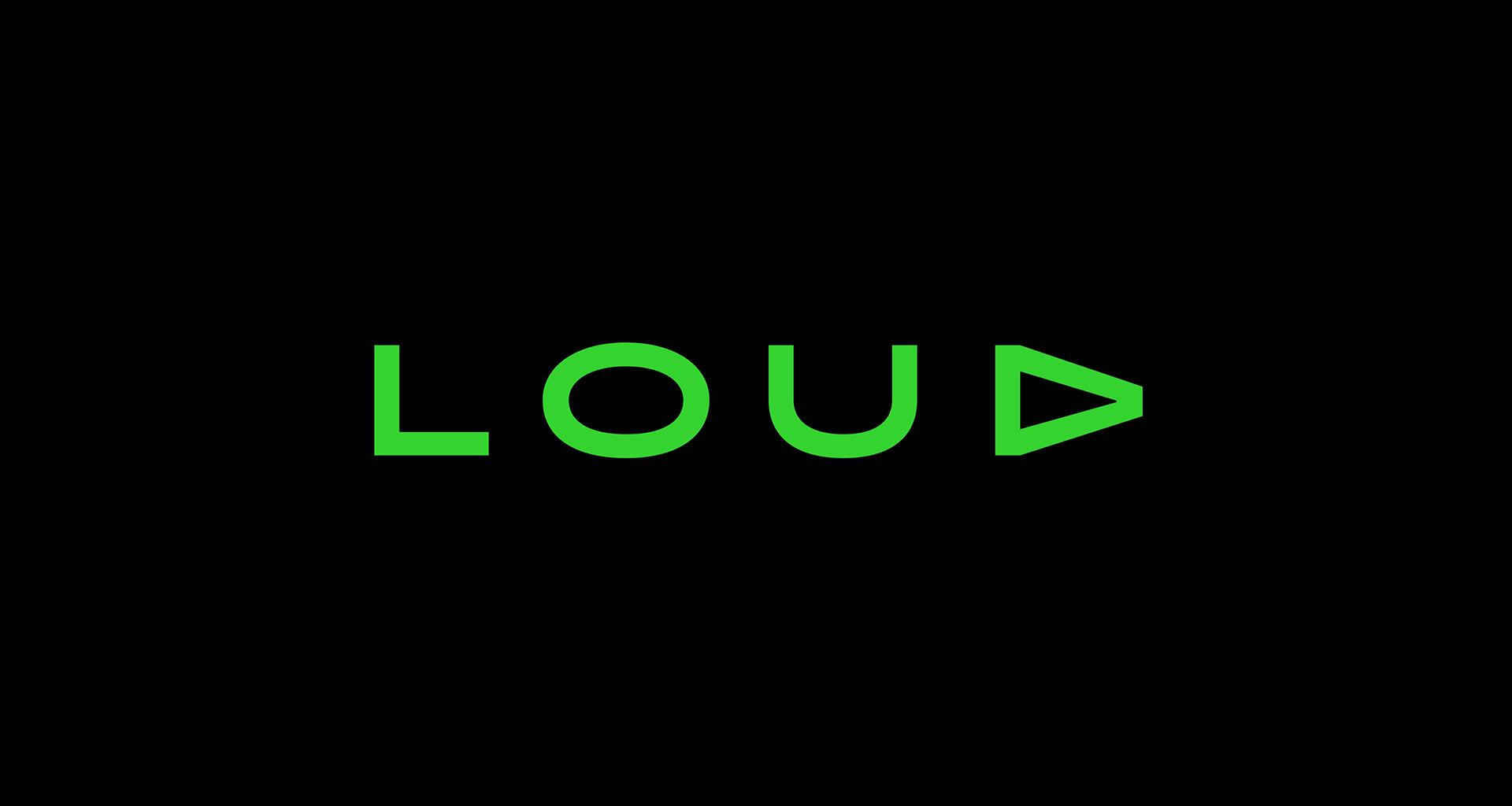LOUD logotype