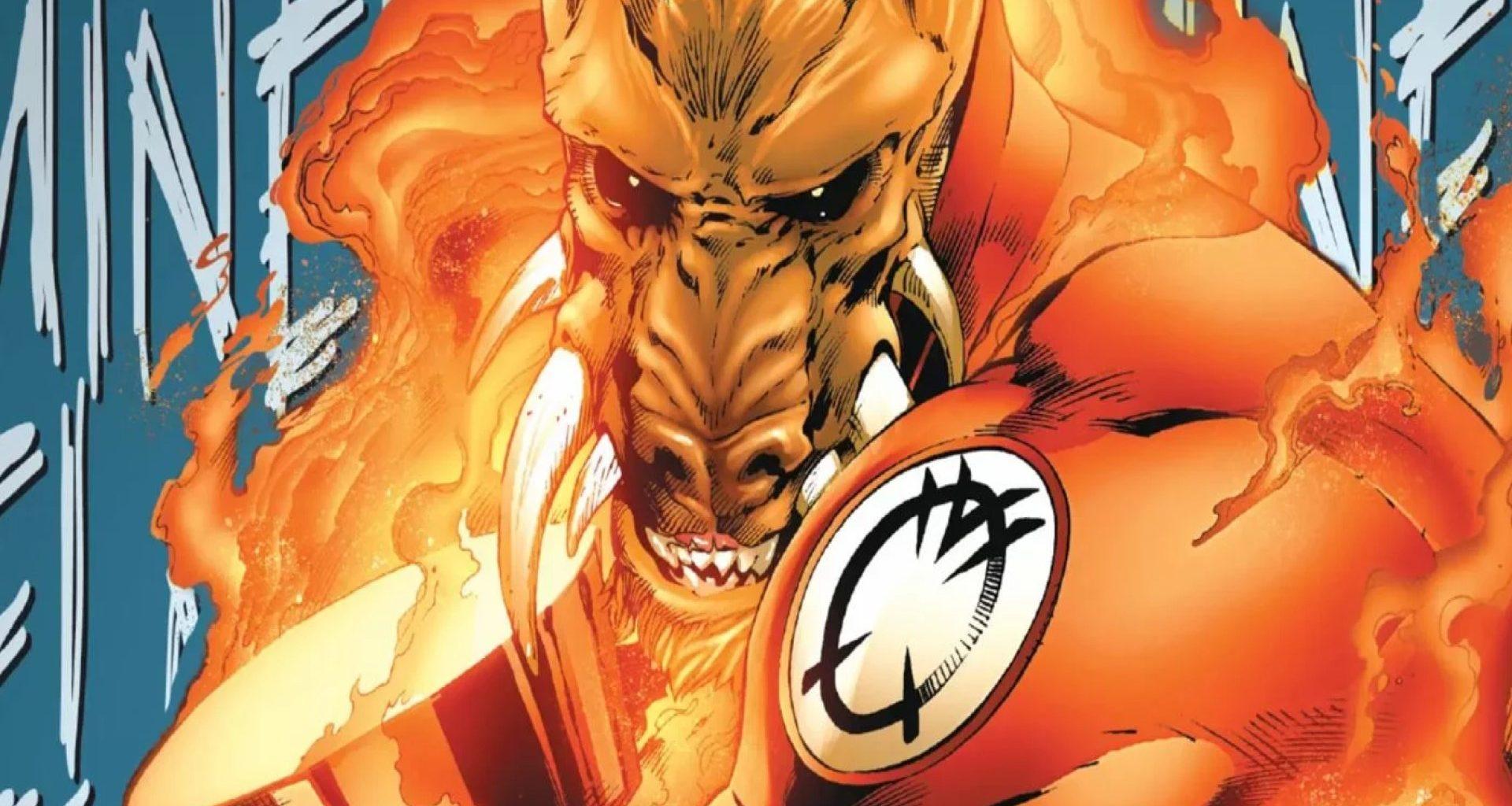 Larfleeze Orange Lantern header