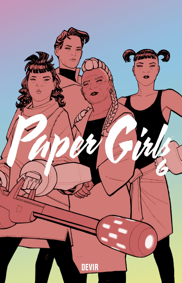 Paper Girls 06 capa