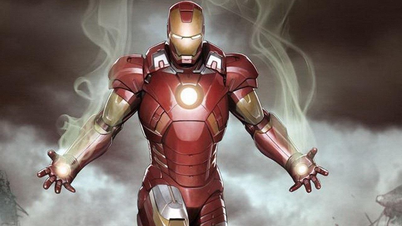 Cartoons Iron man from marvel comics 065040