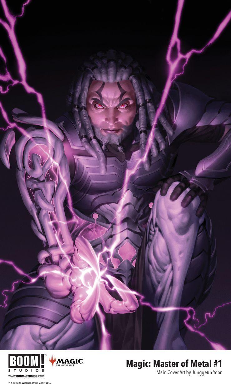magic master of metal cover