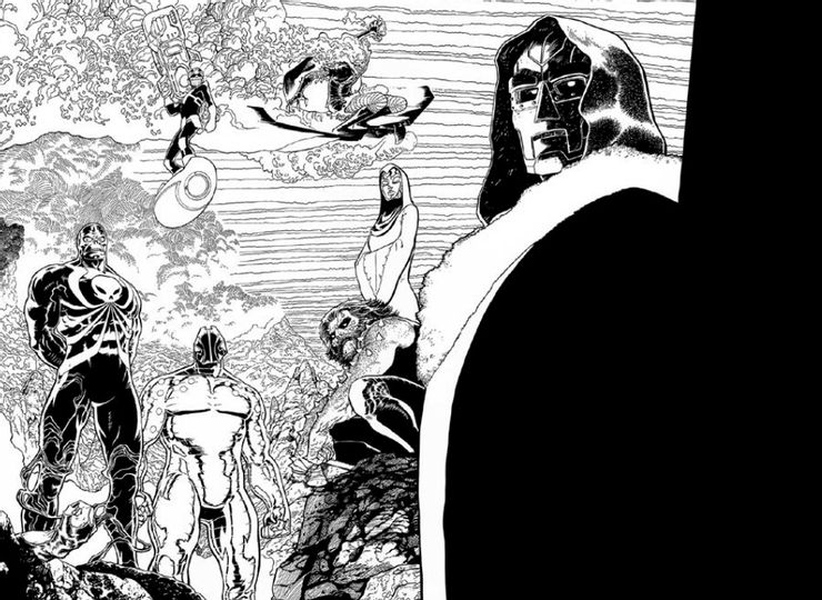 avengers 50 first look 2