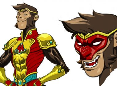 dc introduces monkey prince superhero rc26